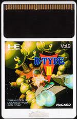 PCエンジン R-TYPE HuCard