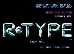 R-TYPE PCエンジン