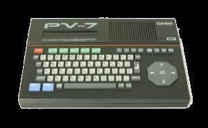 カシオ PV7 MSX