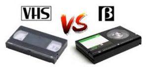 VHS VS ベータ