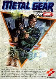 コナミ MSX メタルギア