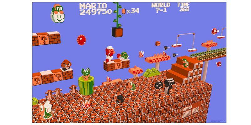 据え置きゲーム マリオ