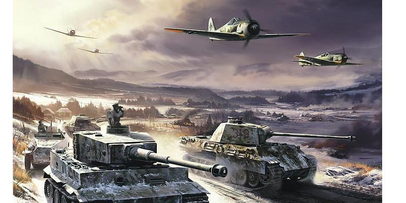 ドイツ軍 戦車 戦闘機