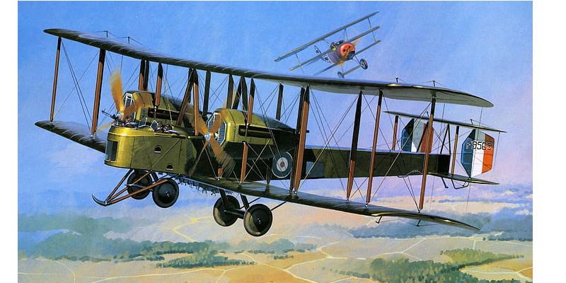 第一次世界大戦 爆撃機