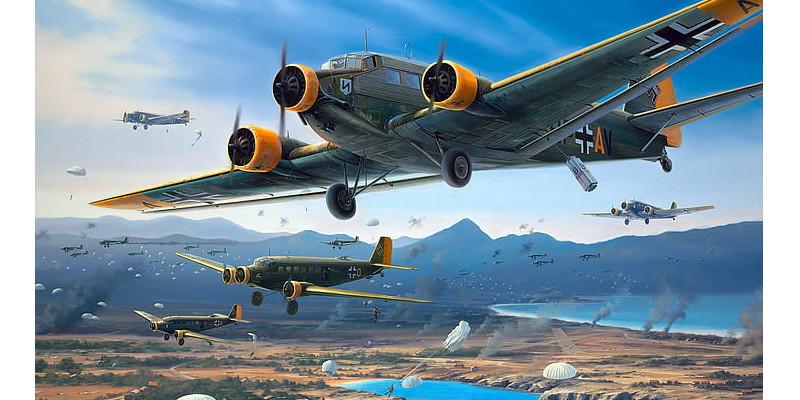 ドイツ空軍 Ju52 輸送機