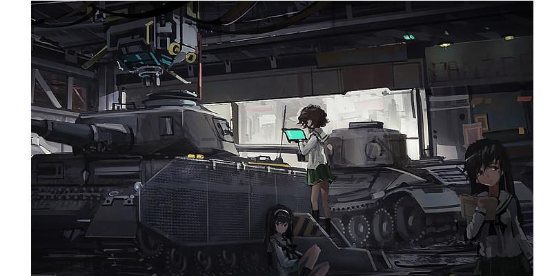 ガールズパンツァー 戦車 パンツァーフロント