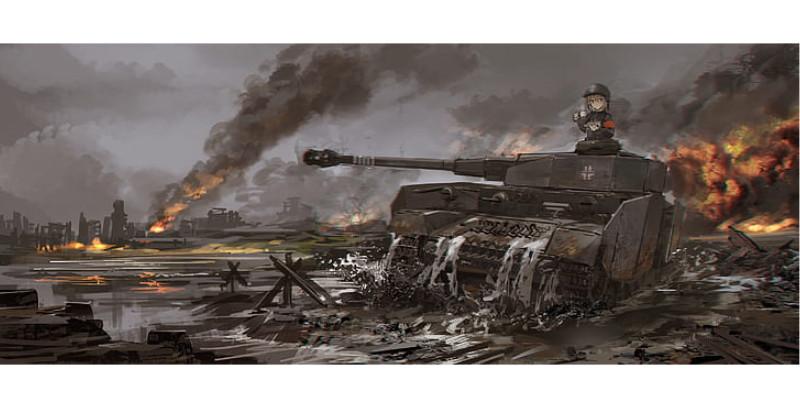 ドイツ戦車 4号戦車 ガールズパンツァー