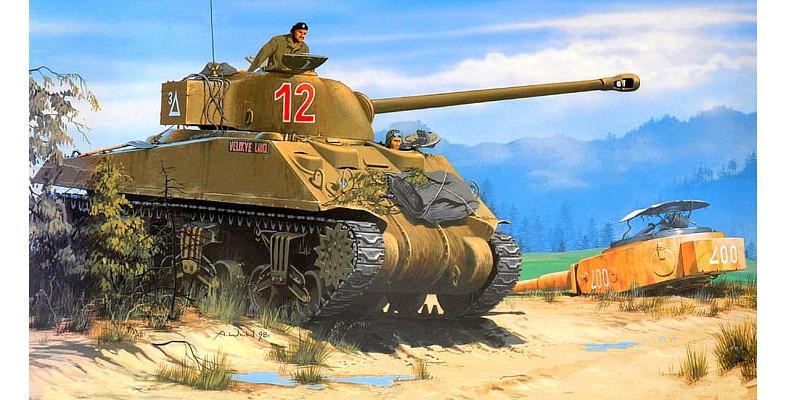 イギリス軍 M4シャーマン