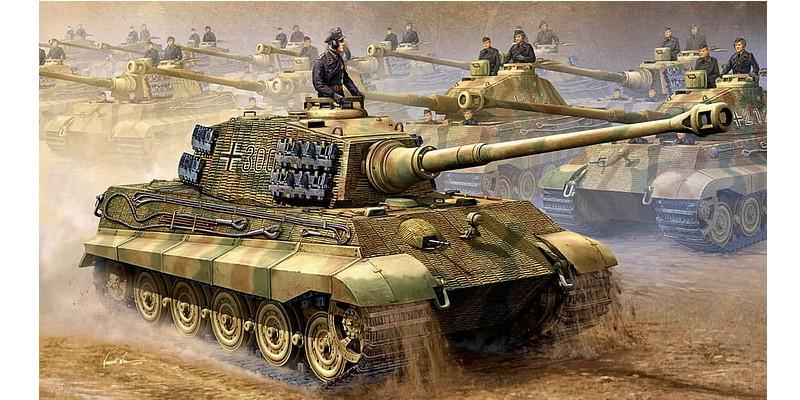 ドイツ重戦車 キングタイガー ティーガーII