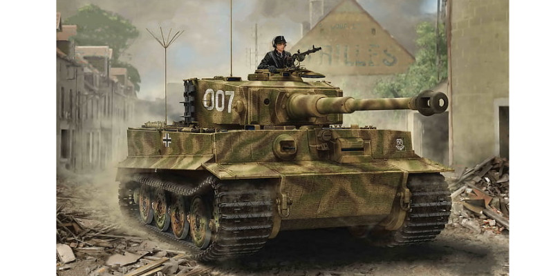 ドイツ重戦車 ティーガーI
