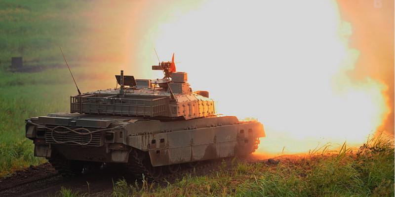 自衛隊 戦車 90式戦車
