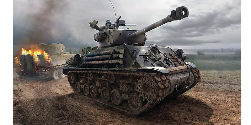 第二次世界大戦 シャーマンM4