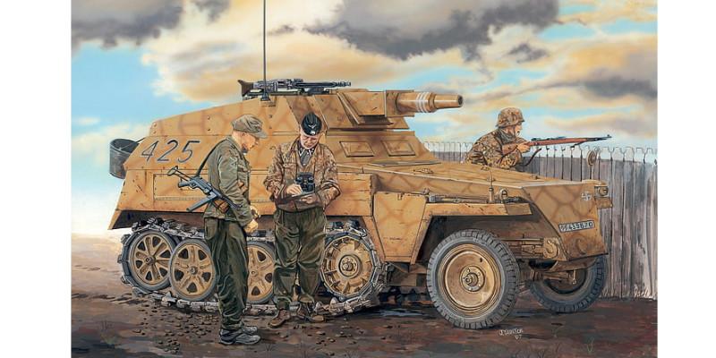ハーフトラック ドイツ軍