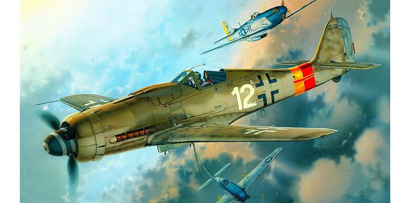 第二次世界大戦、 fw 190、 フォッケウルフ、 ドイツ空軍