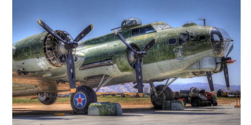 B17爆撃機 アメリカ軍