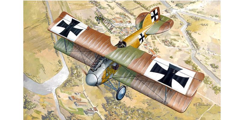 複葉機、 第一次世界大戦、 アルバトロス、 アルバトロスD. II