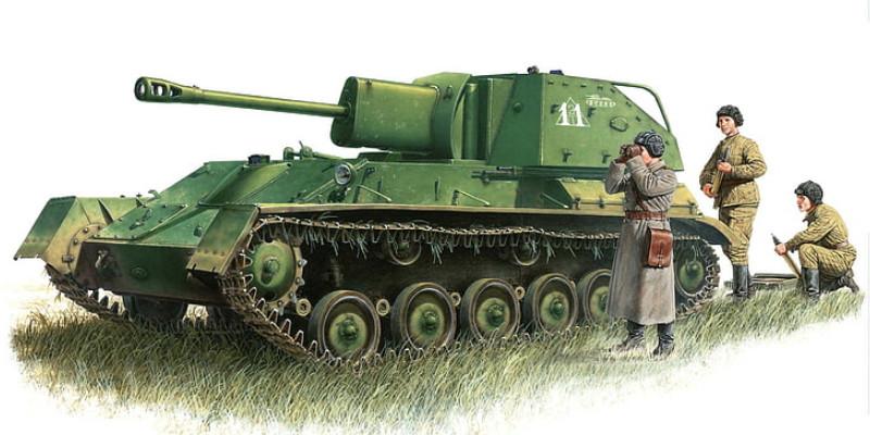 ソ連軍 戦車 自走砲