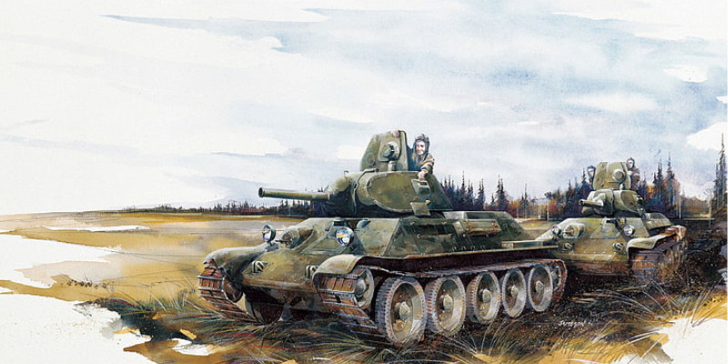 ソ連 T-34 中戦車