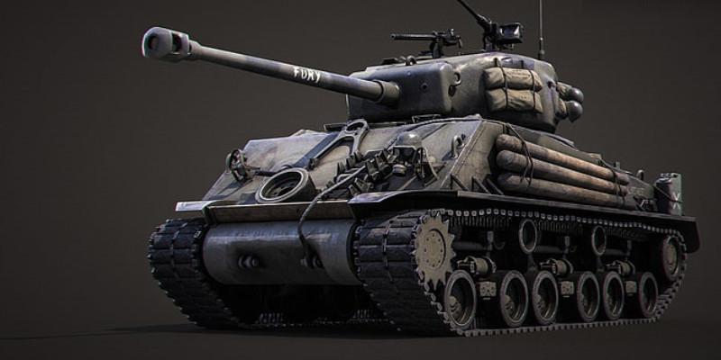 戦車 M4 シャーマン Fury