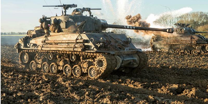 戦車 Fury シャーマンM4
