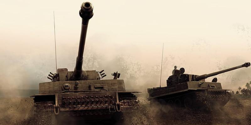 戦車 ティーガーI ドイツ軍