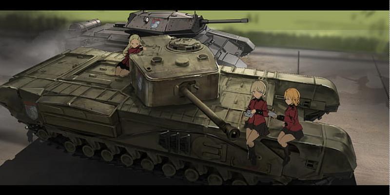チャーチル イギリス軍 戦車