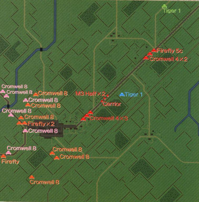 パンツァーフロント マップ26