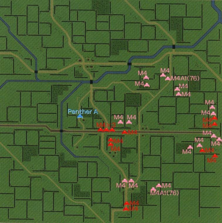 パンツァーフロント マップ27
