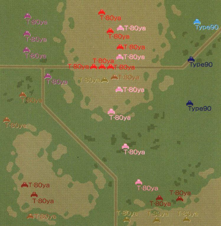 パンツァーフロント マップ28