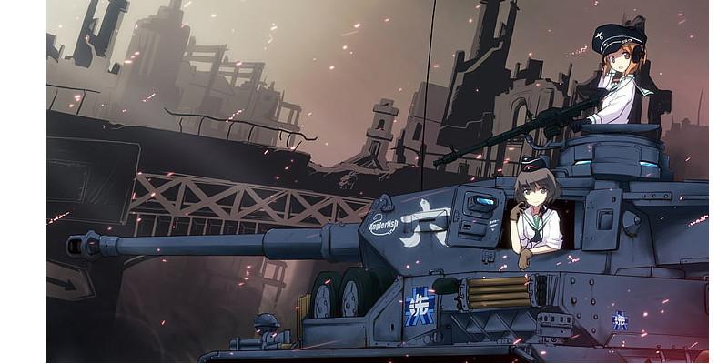 ガルパン  ドイツ戦車