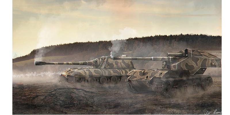架空戦車 マウス E100