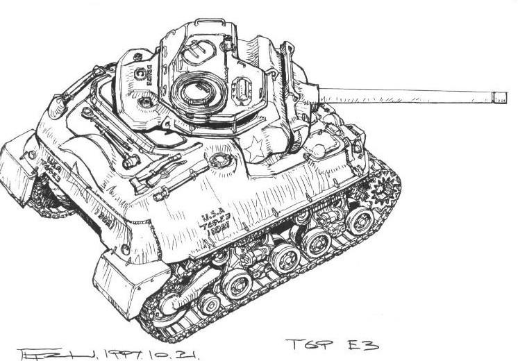 M69M3 架空戦車